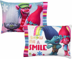 Spongebob Toddler Comforter Set by Dreamsworks Trolls Show Me A Smile Bed In Bag Bedding Set Toddlers