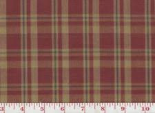 Red Plaid Upholstery Fabric Clarence House By The Yard 100 Cotton Craft Fabrics Ebay