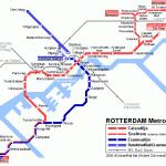 rotterdam netherlands metro map netherlands metro map travelsfinders