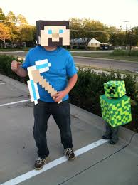 minecraft costume halloween city my 2 year old wanted to be a creeper for halloween minecraft
