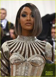 jordan dunn silver hair joan smalls jourdan dunn are balmain babes at met gala 2016