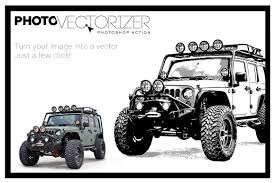 jeep vector photo vectorizer by g design design bundles