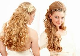 prom and wedding hairstyles curly wedding prom hairstyle for long