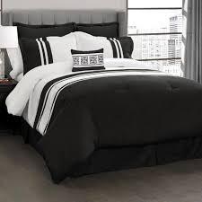 Lush Decor Belle Comforter Set Top 10 Home Decor Picks For A Stunning Black U0026 White Bedroom