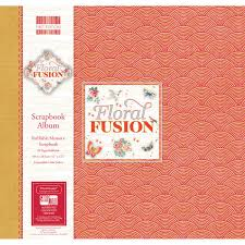 12x12 scrapbook albums edition floral fusion scrapbook album 12 x 12 inches