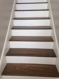european white oak wood floors and stair tread refinishing