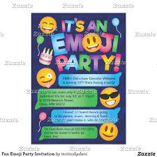 homemade halloween party invitation ideas fun emoji party invitation emoji birthday party ideas and tricks
