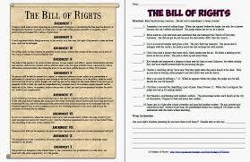 Bill Of Rights Worksheet Answers Bill Of Rights Thebridgesummit Co
