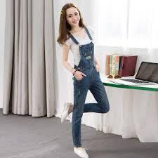 denim jumpsuits pockets jumpsuit fashion plus size denim