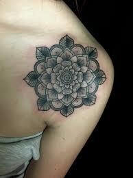 58 amazing mandala shoulder tattoos