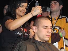 haircut boston airport bruins ready for haircuts at cuts for a cause cbs boston