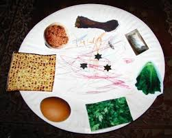 passover paper plates a paper seder plate for passover joyful