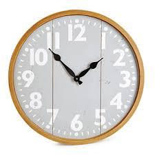 Grande Horloge Murale Carrée En Bois Vintage Achat Horloges Vente En Ligne Large Choix D Horloges Murales Ou à Poser