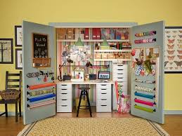 Organize A Craft Room - how to create the closet craft room u0026 tips to organize ikea
