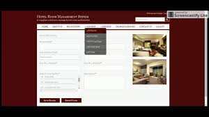 java and jsp project on hotel room management system youtube