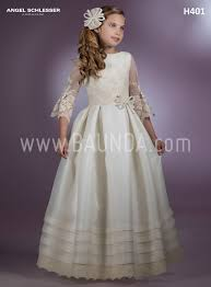 communion dress baunda communion dress designer angel schlesser 2018 model