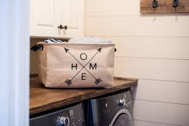 amazon com extra large home storage basket 20x15x11 farmhouse