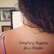 Love Happens Quotes by Everything Happens For A Reason I Love This One This Quote Has