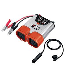 Home Depot Outlet Store by Black Decker 500 Watt Dual Outlet Power Inverter Pi500bb The
