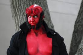Hellboy Halloween Costume Hellboy U2014 Kina Kouture