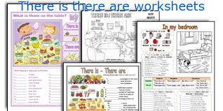 english teaching worksheets there is there are