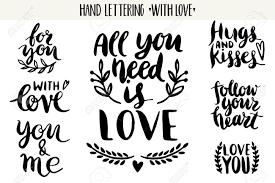 wedding quotes calligraphy quotes lettering collection lettering