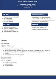 professional resume templates 2016 what is good resume template 2016