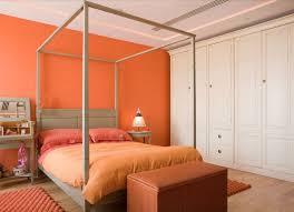 Bedroom Colors Orange - Bedroom orange paint ideas