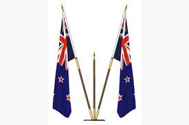 Flags At Half Mass Today New Zealand Flag At Half Mast New Zealand Miners Memorial Service