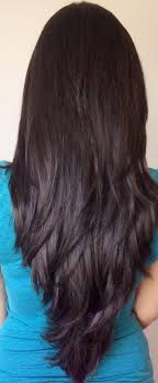 hairstyles back view only photo gallery of long hairstyles layers back view viewing 9 of 15
