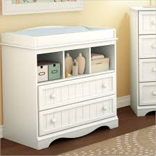 Changing Table Baby White Country Style Changing Table 3580330 South Shore