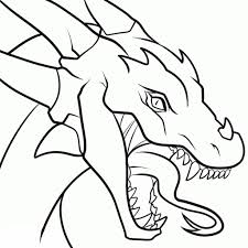 easy drawing of a dragon 12 pics of drawing of dragon faces