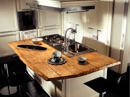 Contemporary Kitchen Contemporary Kitchen Wooden Island Lacquered Living