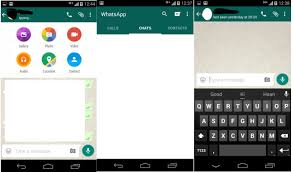 version of whatsapp for android apk and install whatsapp with material design apk