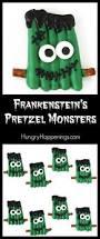 halloween pretzel frankenstein u0027s pretzel monsters halloween treats for kids