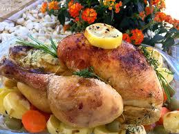 poulet cuisine poulet rôti au citron la cuisine d agnèsla cuisine d agnès