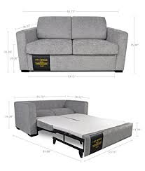 amazon com modern functional lift and pull out loveseat couch