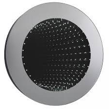 bathroom infinity mirror hudson reed infinity round bathroom mirror 600mm diameter flush bath