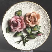 capodimonte roses franklin mint the roses of capodimonte at replacements ltd