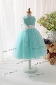 flower dresses tiffany blue high cut wedding dresses