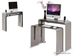 bureau informatique compact onelessdesk by heckler bureau ultra minimaliste maxitendance