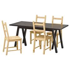 Black Dining Room Table And Chairs by Dining Room Sets Ikea