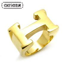 lettre en acier online get cheap anneau lettre h aliexpress com alibaba group