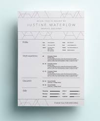 awesome resume examples 12 interior design template we decorator
