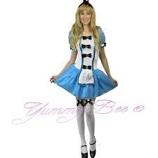 yummy bee fancy dress costume alice wonderland womens queen mad