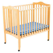 portable wood crib