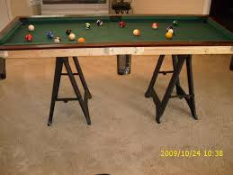 Pool Table Top For Dining Table Small Pool Table 12 Steps