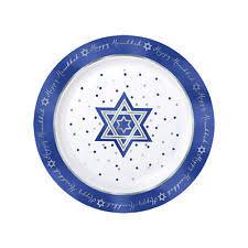 hanukkah plates hanukkah plastic party tableware ebay