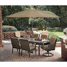 Cheap Patio Dining Set With Umbrella - la z boy outdoor charlotte 7 piece dining set limited