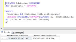 varchar date format php sql server multiple ways to remove milliseconds from datetime